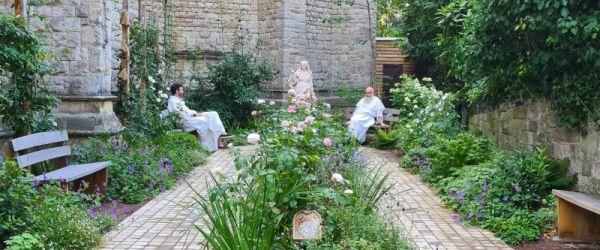 Visit a garden - The Mysteries of Light Rosary Garden (Kentish Town)