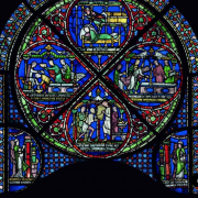 Re-interpreting the Becket Miracle Windows from Canterbury Cathedral
