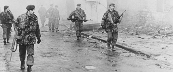 In the Falklands with 2 Para