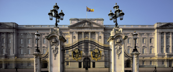 A warden's welcome: Buckingham Palace