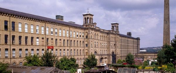 A Virtual Tour of Saltaire, Victorian model town