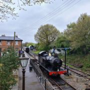 Steam trains return to the Epping Ongar Railway