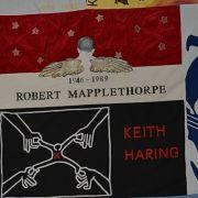 UK AIDS Memorial Quilts Display