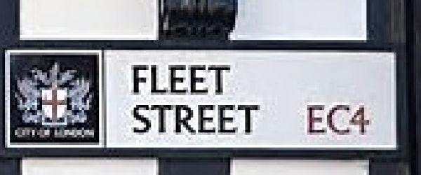 WALK: Fleet Street - The Print & the Press