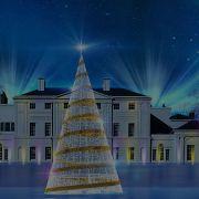Christmas lights at Kenwood