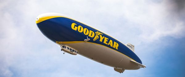 Goodyear Blimp to fly over London