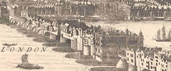 Virtual Walk to Nowhere: In Search of Old London Bridge