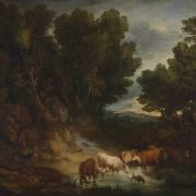 Landscapes by Gainsborough and Rubens
