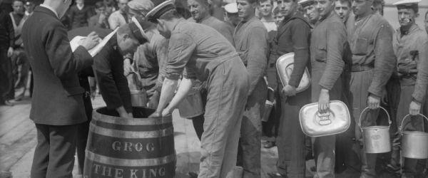 Rum talk and drinks on HMS Belfast