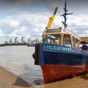 Walking boat demonstration
