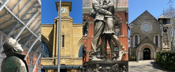 Kings Cross: Wrong Side of the Tracks? Look Up London Walking Tour