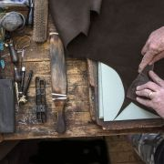 The Art of Hand Cutting Leather