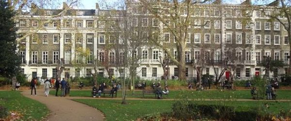 Walk: Bloomsbury - Groups, Squares & Triangles