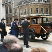Cart marking ceremony