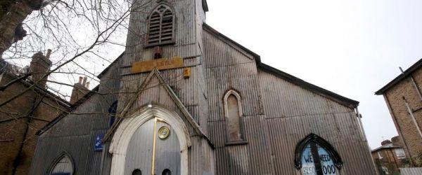 Open day at Kilburn's Tin Tabernacle