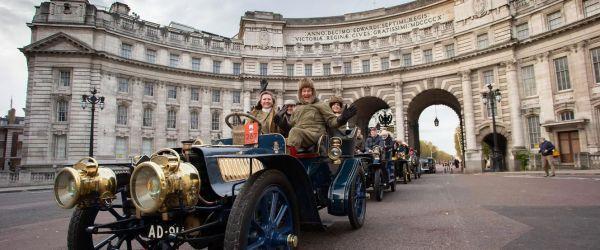 London to Brighton vintage vehicle rally