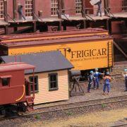Autumn mini exhibition of model railways